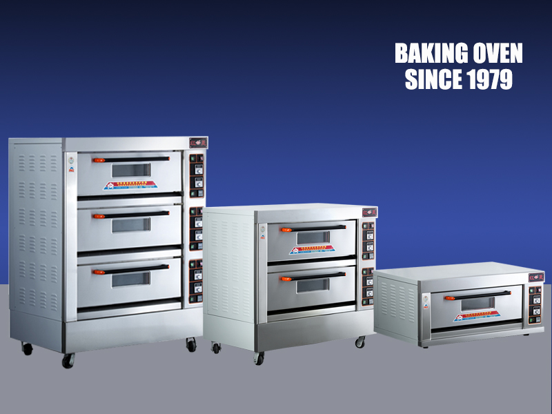 Bakery Oven with leakage protection