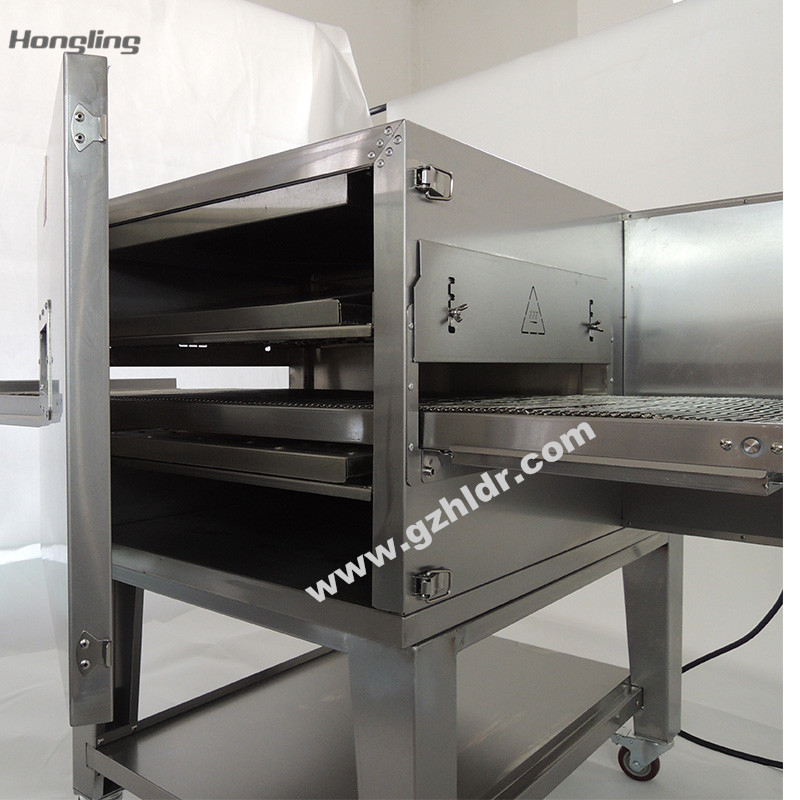 high temperature pizza oven